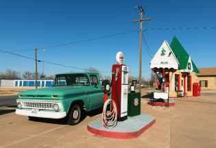 blue sky daylight diesel electric post